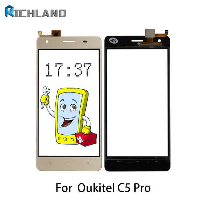 Orignal Touch Screen For Oukitel C5 pro Touch Panel Sensor Digitizer Front Glass Lens Touchscreen TP Replacement part+Tools set