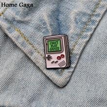 Homegaga Game boy advance Metal Zinc Enamel pins Trendy medal para backpack shirt clothes bag brooches badge for men women D1785