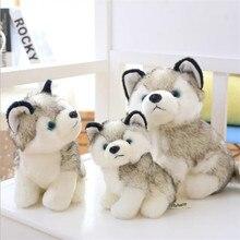 Simulation Husky Dog Plush Toy Gift For Kids Baby Toy Birthday Present Stuffed Plush Toy Children Boy Girl
