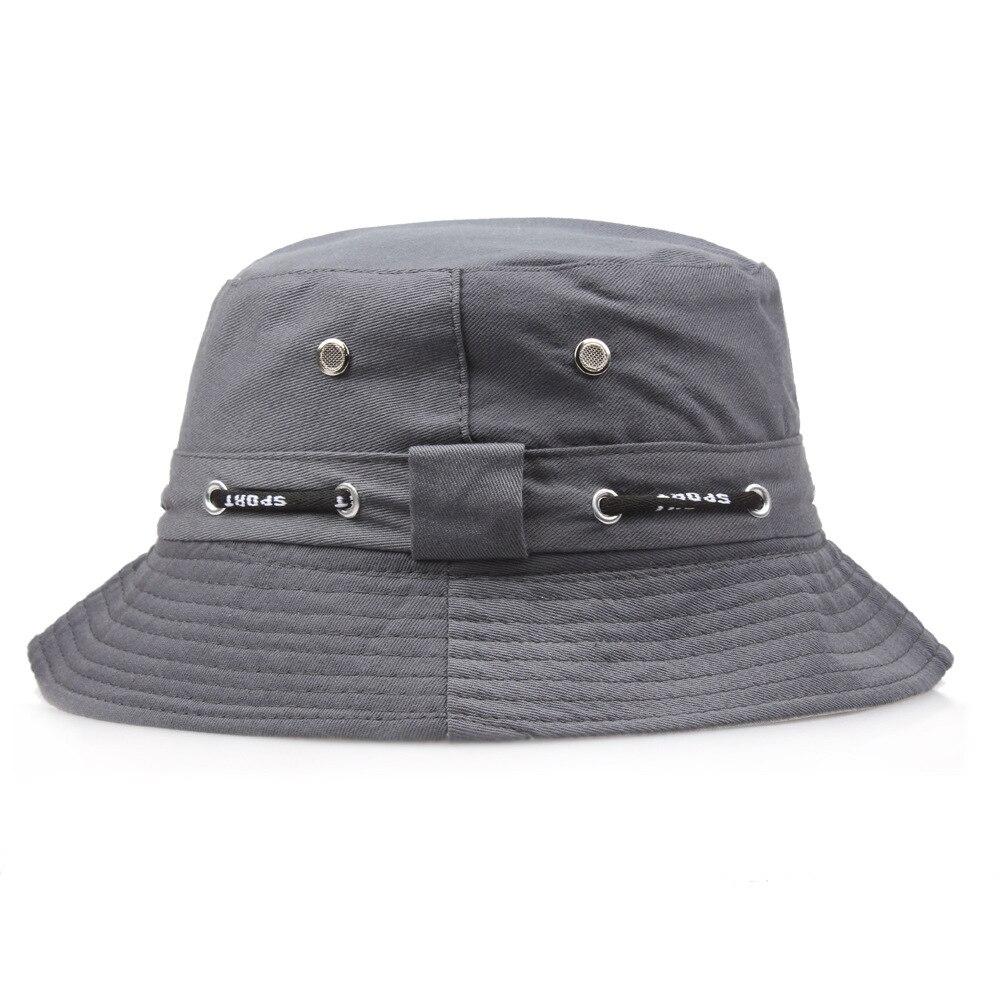 2017 Sonnencreme Männer Frauen Eimer Hut Caps Flache Sommer Herbst Einfarbig Fischer Panama Hochwertigen Seil Baumwolle Einfache Hüte