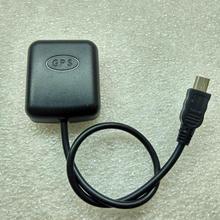 Espejo retrovisor GPS de posicionamiento por satélite antena del módulo de interfaz USB recibir vehículo perro electrónico de navegación