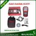 Original Autel AL619 Autolink OBD II SRS CAN ABS Airbag Code Reader Fault Tool Autel AL 619 OBDII Diagnostic Scan Tool