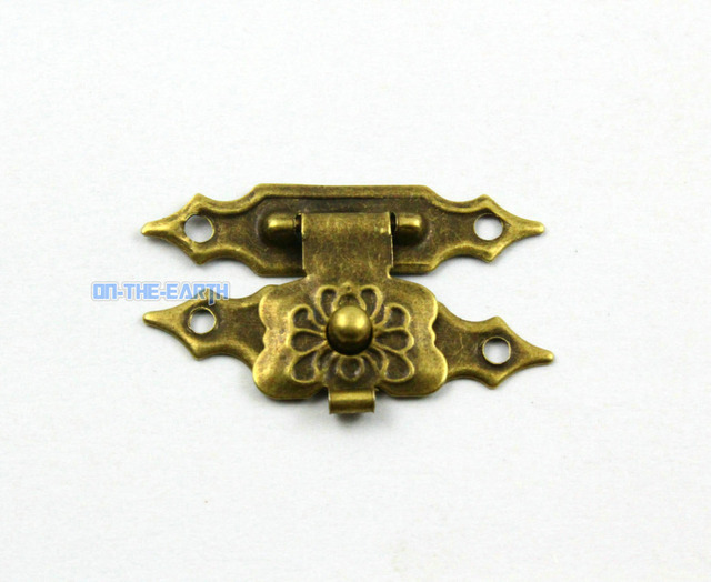 Aliexpresscom Buy 20 Antique Brass Jewelry Box Hasp Latch Lock