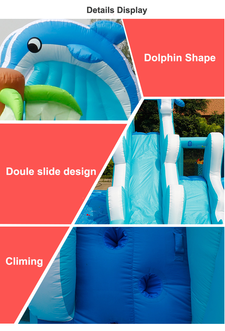 HTB1a7JoSXXXXXcaaXXXq6xXFXXXX - Inflatable Bouncer Bounce House With Double Water Slide, Air Trampoline, and Mesh Swimming Pool