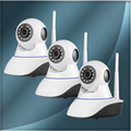 3pcs/lot Golden Security IP Camera Wireless Wifi HD 720P Infrared Night Vision For Smart Home CCTV Security Camera