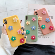 Cute 3D Flowers Phone Case For iphone XS