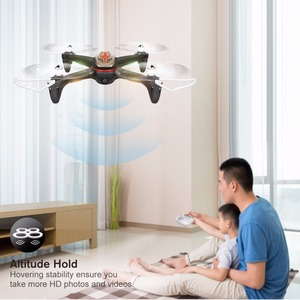 Image 2 - Syma X15W 4 canaux Wi Fi FPV contrôle dapplication Mobile quadrirotor s quadrirotor avec caméra à une touche, rouleau 3D, drone RTF