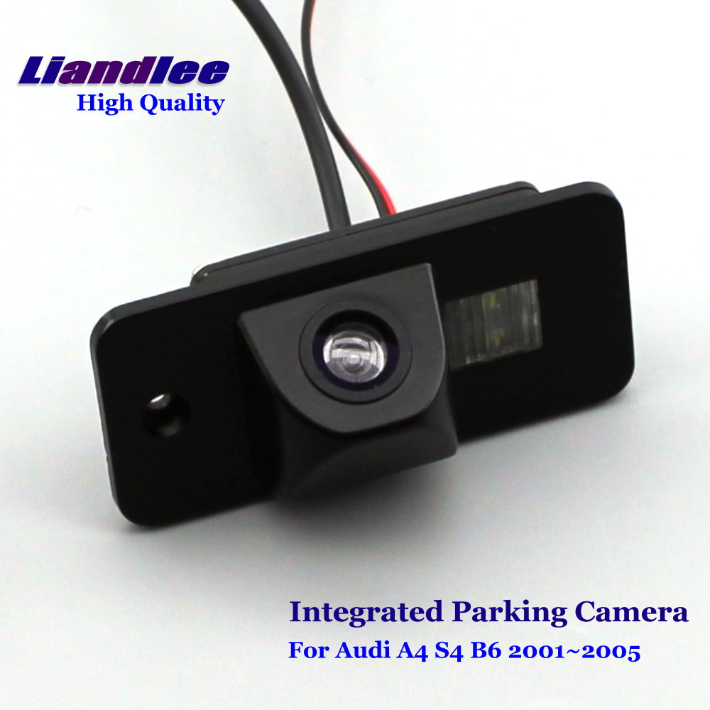 Liandlee Car Rearview Reverse Camera For Audi A4 S4 B6 2001~2005 Rear View Backup Parking Camera / Integrated High Quality