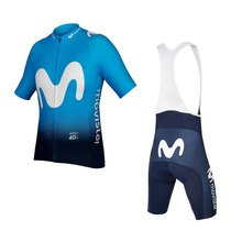 2019 pro world tour team blue cycling jersey SET Bicycle maillot breathable MTB quick dry bike Ropa ciclismo 9D gel pad стоимость