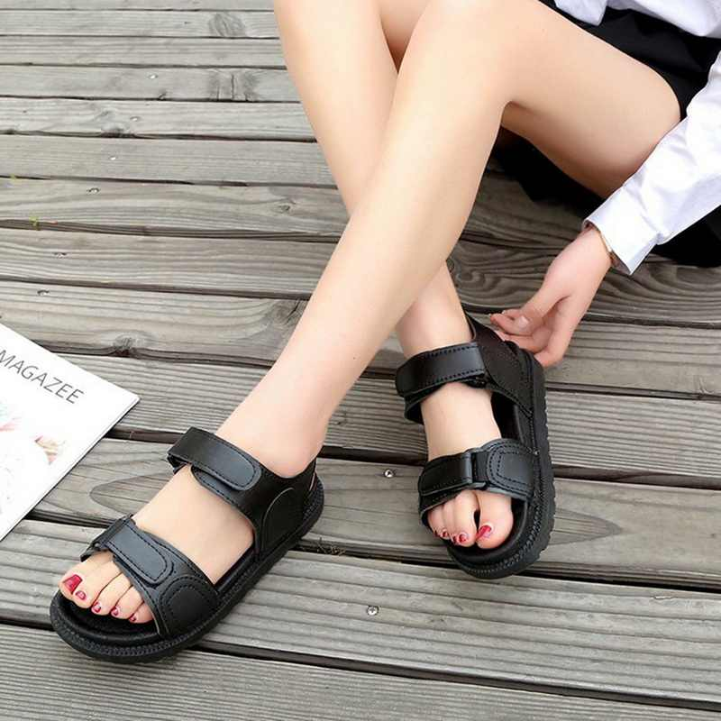 SHUJIN Casual Women Sandals 2019 Platform Woman Summer Height Increasing Beach Sandals For Ladies Sandals Casual Walking Shoes