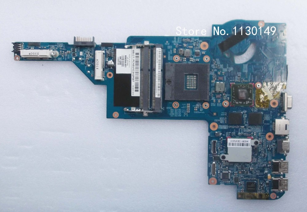 Laptop motherboard 669084-001 for HP DM4 DM4-3000 motherboard with Intel DDR3 Non-integrateted fully test and free shipping free shipping laptop motherboard for hp 657602 001 dv4 dv4 3000 motherboard full test and 100