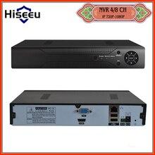 Caja de Metal H.264 VGA HDMI 4CH 8CH CCTV NVR 8 Canales Mini 1920*1080 P ONVIF NVR 2.0 Para Sistema de Cámaras de Seguridad IP De 1080 P cámara