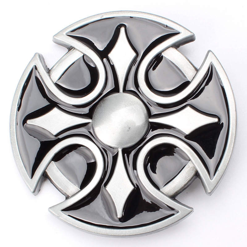 Europe And The United States  Style Round Belt Buckle
