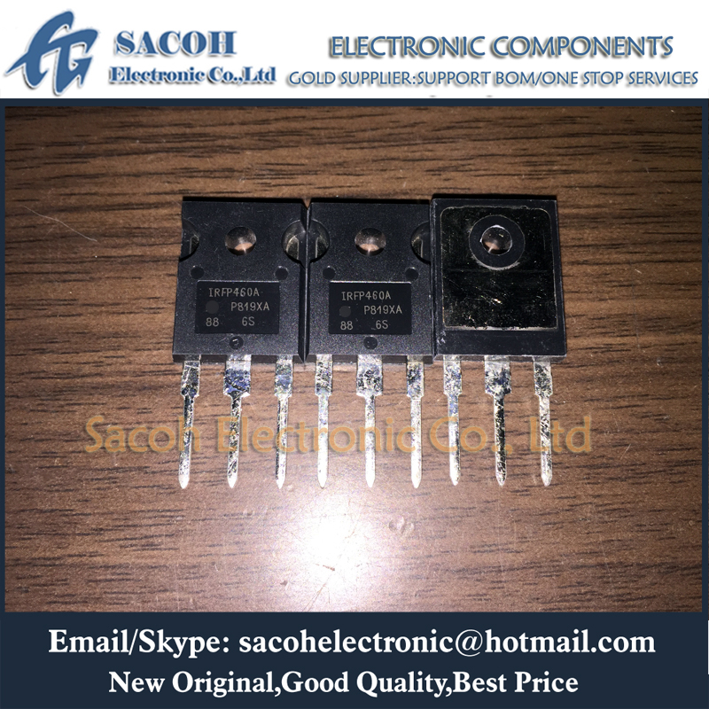 Free Shipping 10Pcs IRFP460 IRFP460A IRFP460N IRFP460Z IRFP460LC TO-247 20A 500V Power MOSFET Transistor