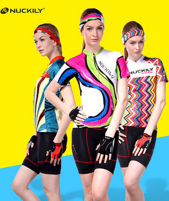 Womens Pro Cycling jerseys Set Short sleeve 2018 Summer Breathable Mountain Quick-Dry Cycling Clothing Free Shipping