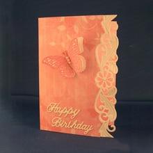 New Wave Flower Metal Cutting Dies for Scrapbooking DIY Album Embossing Folder Paper Card Cake Maker Template Stencils 161*32mm