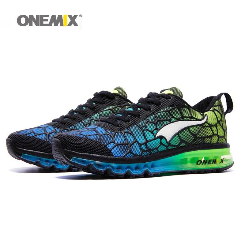 Hot onemix 2017 Män Air Running Shoes Outdoor Sportskor Andas Mesh - Gymnastikskor - Foto 3