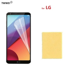 Clear Protective Film Screen Protector for LG G7 G8 ThinQ G6 G5 G4 G3 G2 V20 V10 for LG V30 Plus LCD Screen Protector Film Foil стоимость