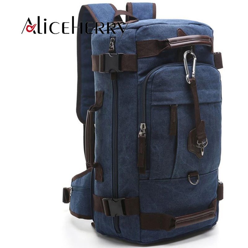 High Quality Large Capacity Vintage Rucksack Men's Canvas Backpack Casual Out Door Travel Men's Laptop Backpacks bag large capacity backpack laptop luggage travel school bags unisex men women canvas backpacks high quality casual rucksack purse