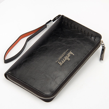 New 2015 Men Wallets Famous Brand Mens Long Wallet Clutch Male Money Purses With Flip Up Window Masculina Carteira Card Holder недорго, оригинальная цена
