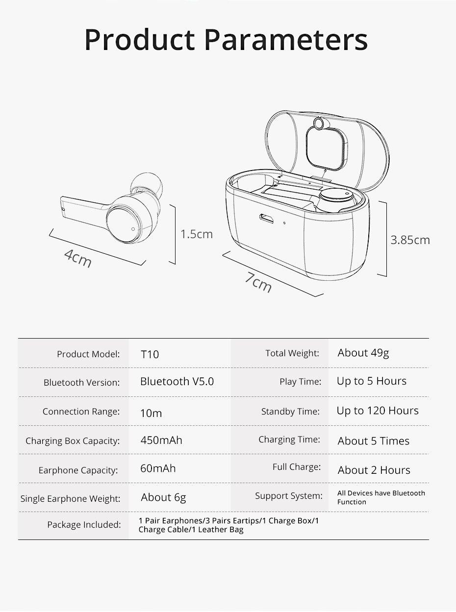 wireless earphone for phone