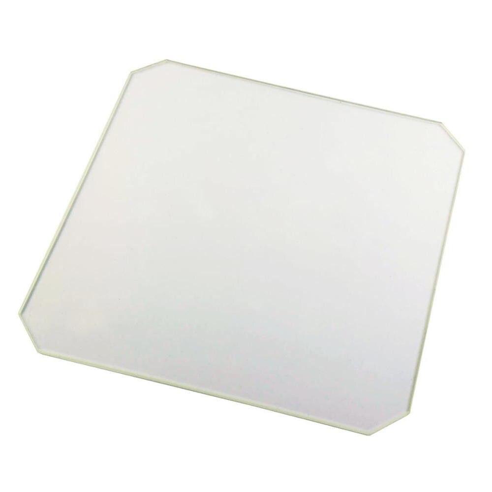 220mm x 220mm x3mm Polished Chamfer Borosilicate Glass Plate/Bed w/corner cut for Wanhan i3 Anet A8 MP Maker Select 3D Printer220mm x 220mm x3mm Polished Chamfer Borosilicate Glass Plate/Bed w/corner cut for Wanhan i3 Anet A8 MP Maker Select 3D Printer
