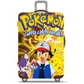 Japanese Anime Washable Pokemon Theme Luggage Protective Suitcase Cover
