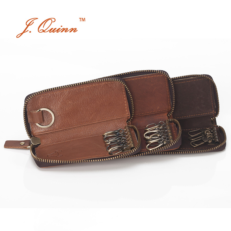 couro de bezerro chave organizer Sell Point3 : Leather Key Wallet