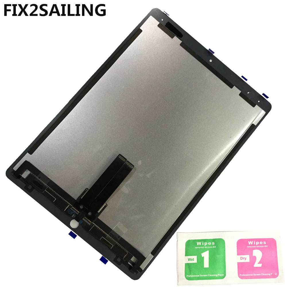 LCD A1652 2nd For Apple iPad Pro 12.9 A1652 A1584 100% New Grade LCD Display Touch Screen Digitizer Assembly Replacement black grade a lcd display touch digitizer complete screen with frame full assembly replacement for iphone 6 6s iphone 6 6s plu