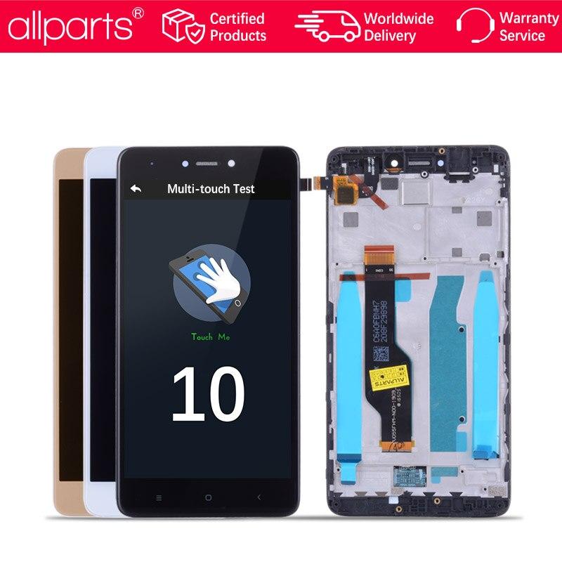 MTK Helio X20 Note 4X Pro IPS LCD Pour XIAOMI Redmi Note 4X Affichage Écran Tactile Digitizer Avec Cadre Pour redmi Note4X LCD Pièces
