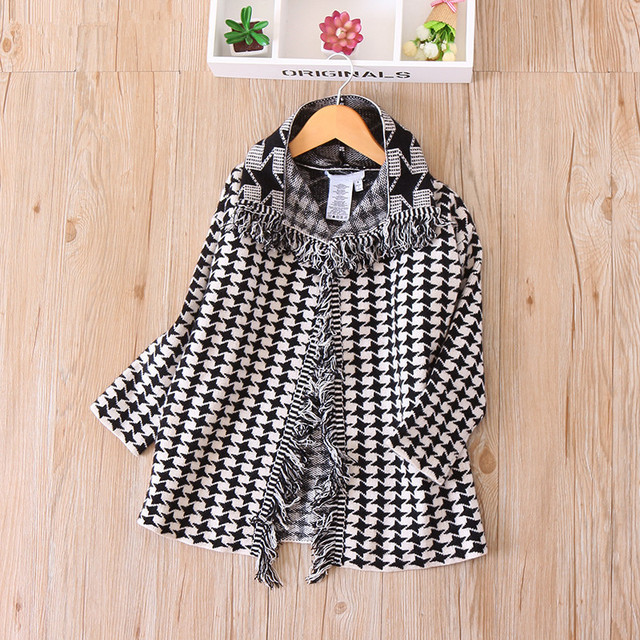 726b19c3b Autumn Baby Girl Long Sleeves Lattice Knit Jacket Children Casual ...