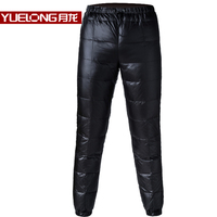 YL Brand 2017 Winter New Tall Waist Thickening Big Yards Youth Wear Cold Warm Trousers Down