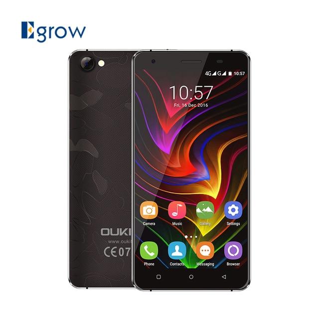 Original Oukitel C5 MTK6580 Quad Core Android 7.0 Mobile Phone 5.0 Inch Cell Phone 2G RAM 16G ROM Unlock 3G Smartphone