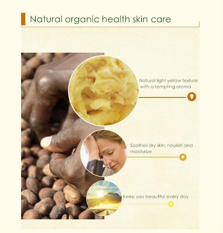 Dimollaure 50-200g Baku Alami Organik Dimurnikan Shea Butter Minyak - Perawatan kulit - Foto 4
