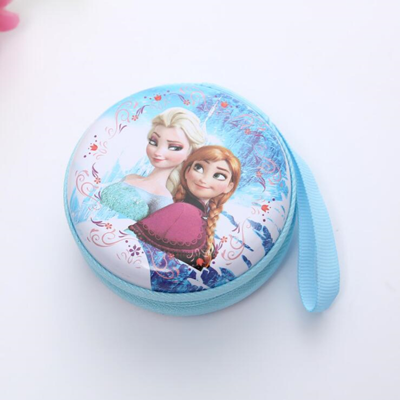 Fashion Cartoon Coin Purse Elsa Anna Princess Girls Key Case Wallet Children Lovely Coin Purses Kids Girls Birthday Party Gift hot sales lovely children cartoon watch princess elsa anna leather strap quartz watch boys girls baby birthday gift wristwatches