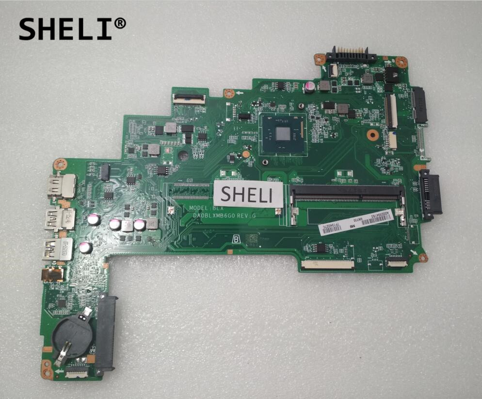 SHELI For Toshiba C55-C Motherboard with N3700 cpu A000394150SHELI For Toshiba C55-C Motherboard with N3700 cpu A000394150