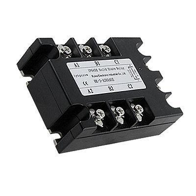 AC to AC Three 3 Phase Solid State Relay SSR 40A 90-280VAC 380V AC normally open single phase solid state relay ssr mgr 1 d48120 120a control dc ac 24 480v