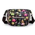 Print Floral Women Messenger Bags  CrossBody Shoulder Canvas Hobo Bag Nylon Oxford Fabric Women's Handbag Bolsas Femininas