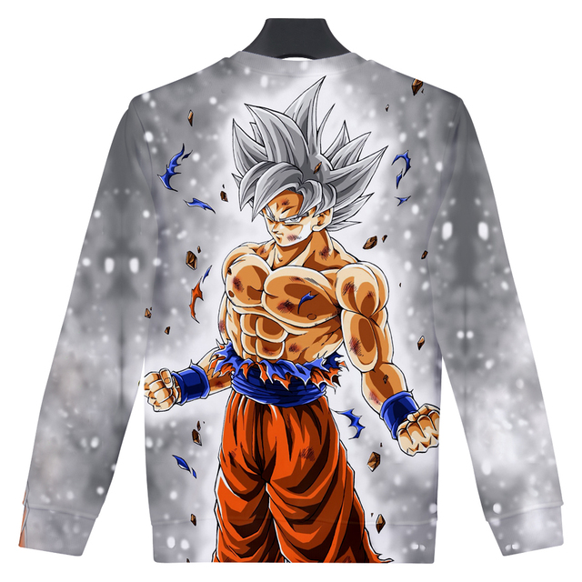 Dragon Ball Z Super Saiyan Sudadera 3D