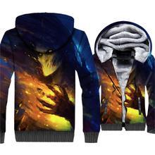Super Hero Groot Jacket 3D Print Cute Hoodie Men Harajuku Sweatshirt Winter Thick Fleece Warm Zip up Coat New Brand Streetwear цена и фото
