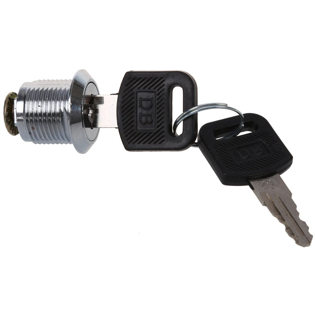 Tool Box Cabinet Locking 19mm Dia Thread Cylinder Cam Lock ...