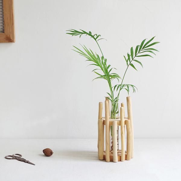 Hot glass test tube vase flower holder buds roots cuttings for Test tube flower vase rack