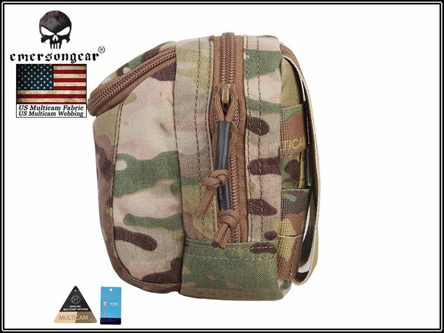 EmersonGear EDC Digital Camera Waist Bag Molle Military Airsoft Combat Gear Bag EM8349 Multicam Black 3