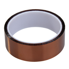 High Insulation Tapes For PCB SMT Soldering Tawny High Temperature Polyimide Adhesive Tape Heat Resistant 30mm x 30m AA