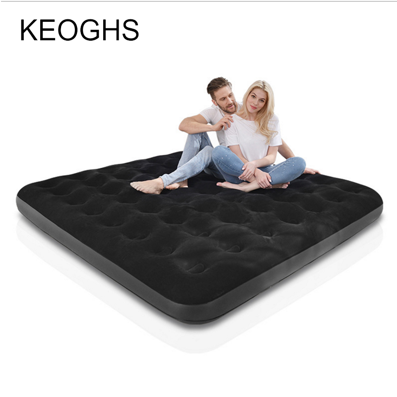 new Camping mat Inflatable mattress inflatable bed double persons household gas filled bed outdoor portable air cushion bed