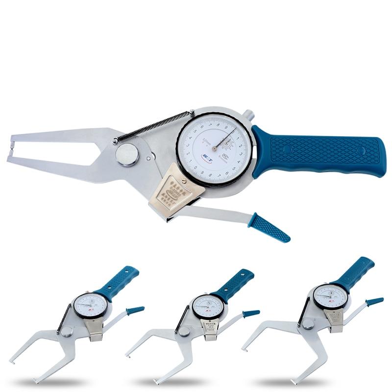 Dial Calipers Gauge 0.01mm Outside Card Gauge Measure Diameter Handheld Measuring Tools
