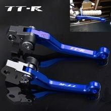 Рычаги сцепления для мотоцикла Yamaha TTR125/TTR125L/TTR250/TTR600 CNC, внедорожный велосипед, Мотокросс, поворотный тормоз, рычаги сцепления TTR 125 L/125L/250/600