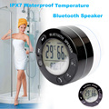 Portable Thermometer Shower Waterproof Wireless Bluetooth Speaker Car Handsfree Receive Call Music Suction Phone Mic For iPhone