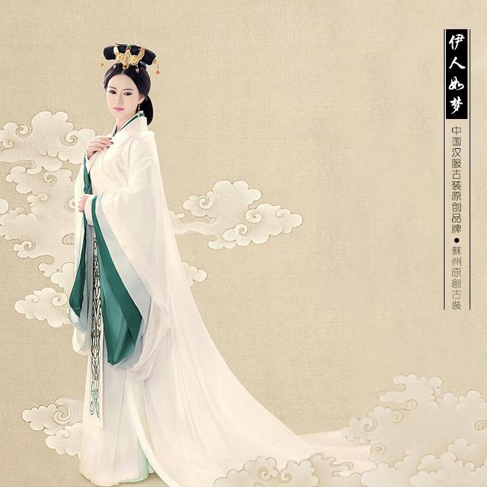 YiRenRuMeng Miyue Sun Li 2015 Newest TV Play Legend Of Mi Yue - Ancient Qin Empress Xuan Gorgeous Stage Costume