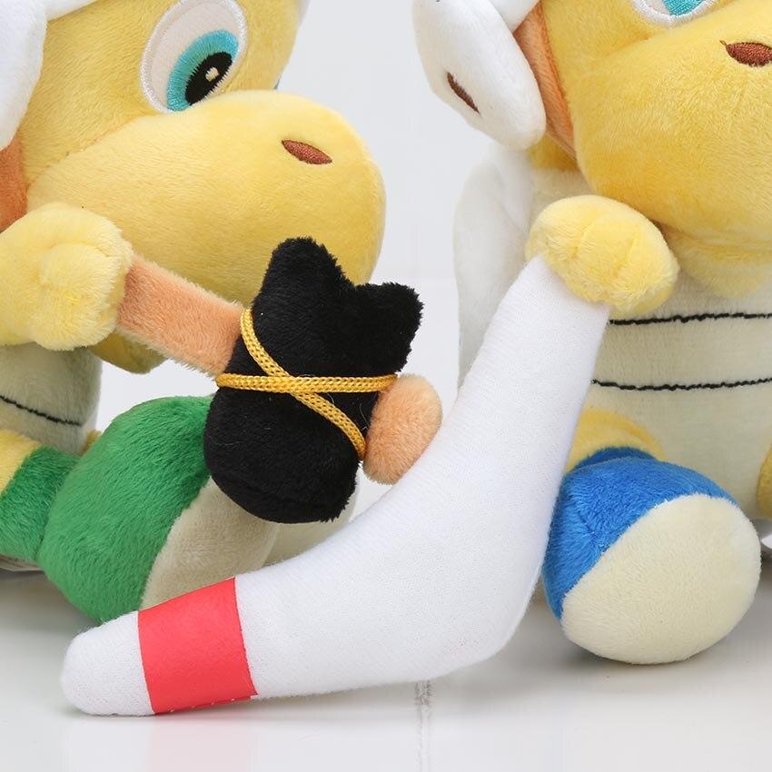 Симпатичные 8 Super Mario Bros бомба братан Купа Troopa милые мягкие плюшевые игрушки куклы розничная
